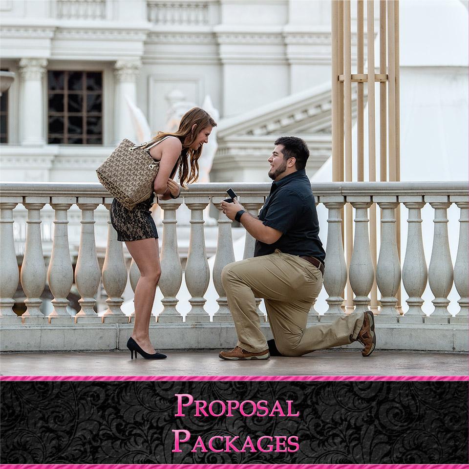 Las Vegas Proposal Photography