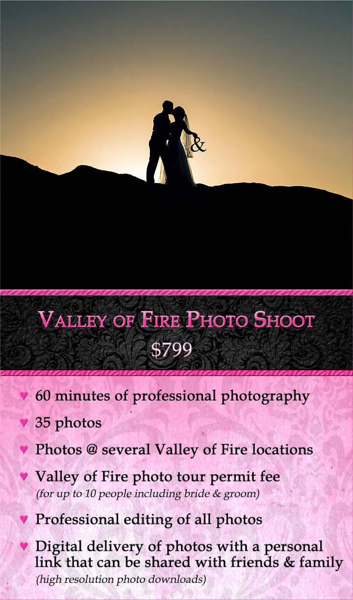 Valley of Fire Photo Shoot