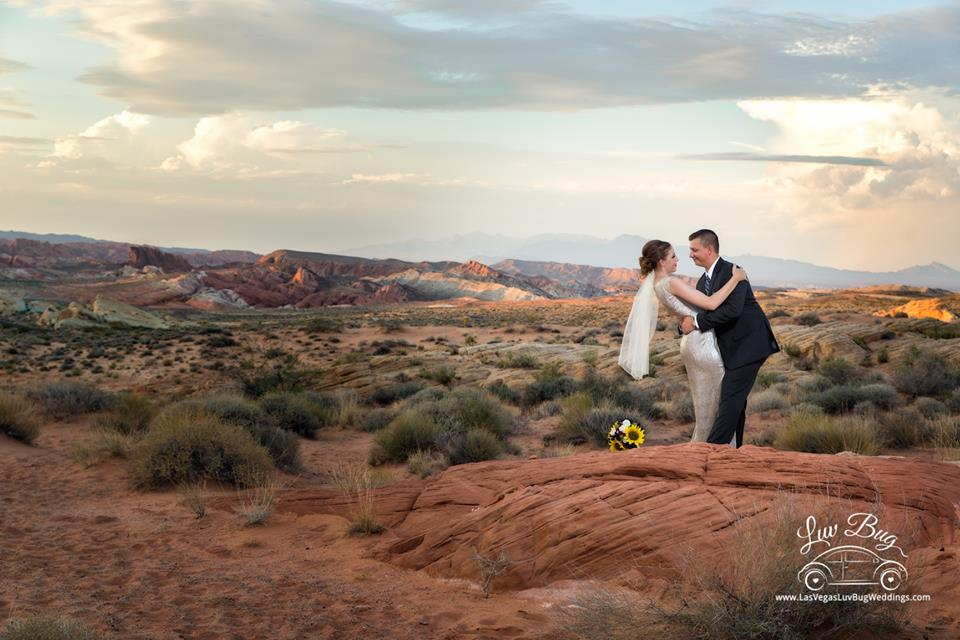 Valley of Fire Wedding August 3