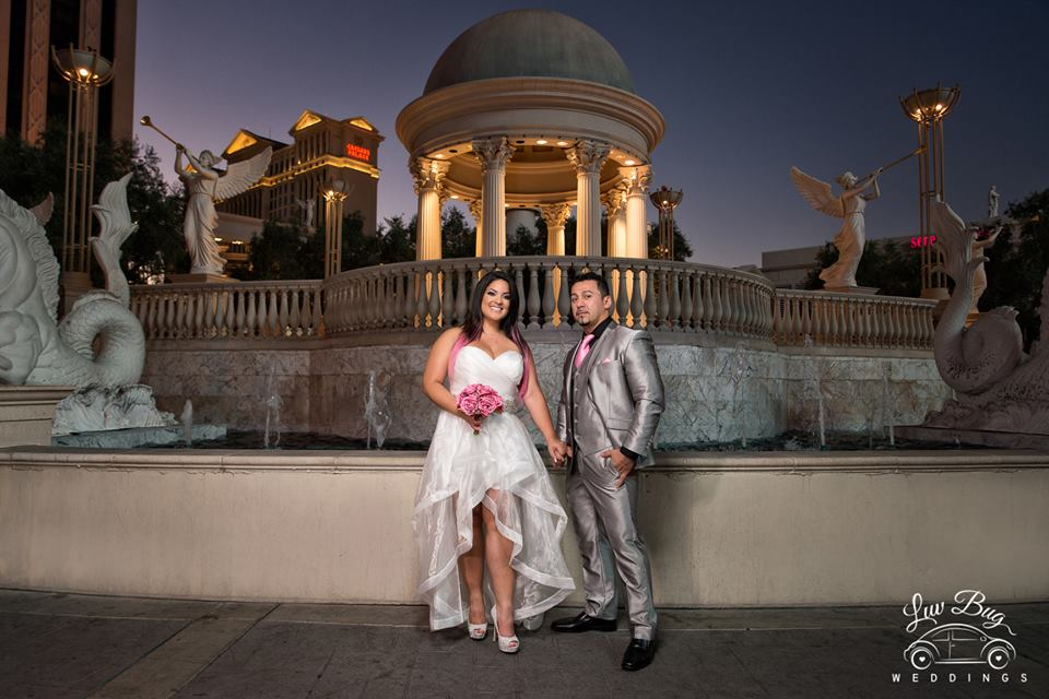 Las Vegas Strip Wedding… Via Puerto Rico