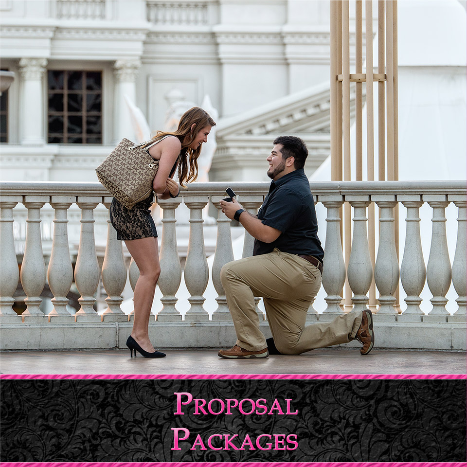 Las Vegas Proposal Photography