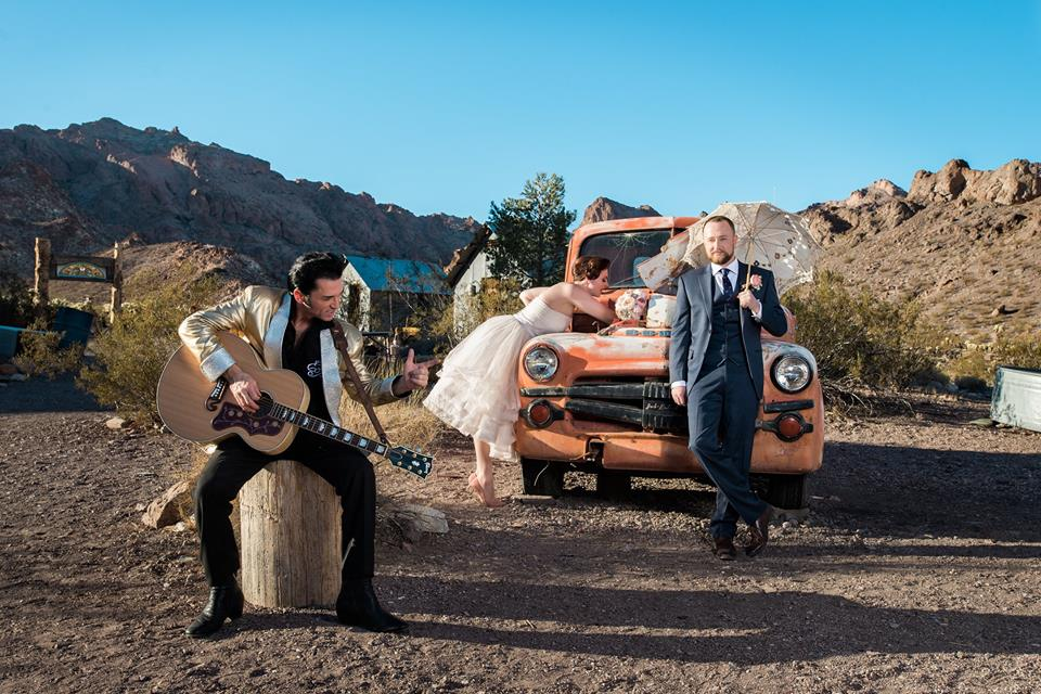 Ghost Town, Elvis, & Eagles, Oh MY! – A Las Vegas Wedding Story