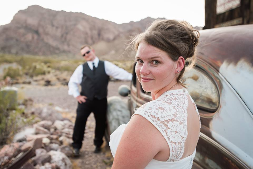 Phil & Nicole's Nelson Ghost Town Wedding Luv Story