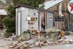 <h5>Nelson Ghost Town: Metal Outhouse</h5><p>                                                                                                                                                                                                                                                                                                                                                                                                                                                                                                                                                                                                                                    </p>