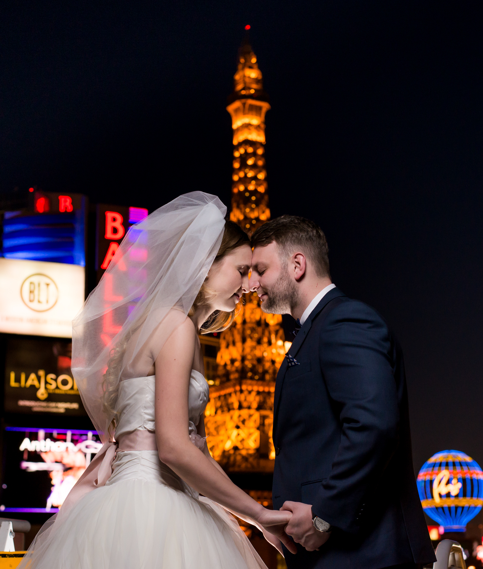 Vegas Sunset Wedding