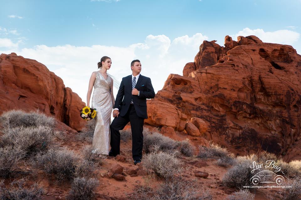 Valley of Fire Wedding Via Utah