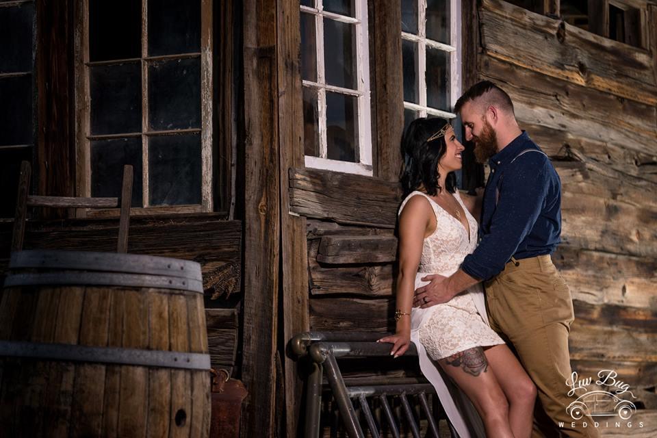 Nelson Ghost Town Wedding In September
