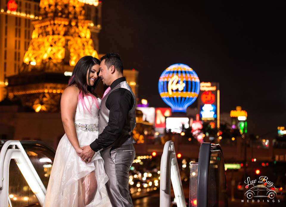 Bodas Las Vegas Luv Bug en el Strip