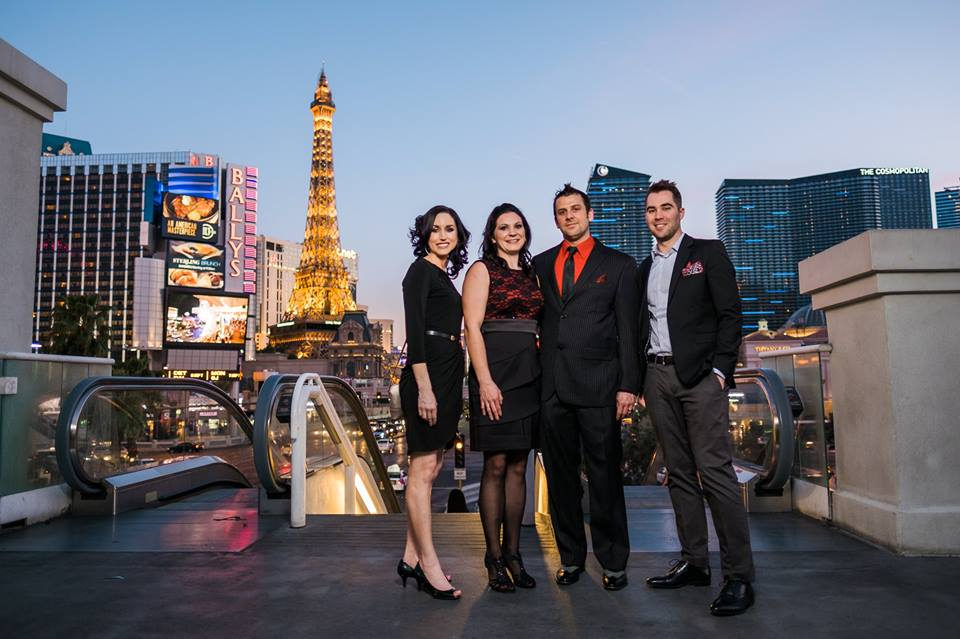 Las Vegas Strip Wedding Luv Story 2-29