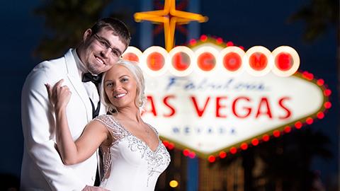 Las Vegas Strip Weddings Las Vegas Luv Bug Weddings
