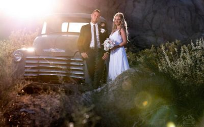 Andy & Lenka's Nelson Ghost Town Wedding