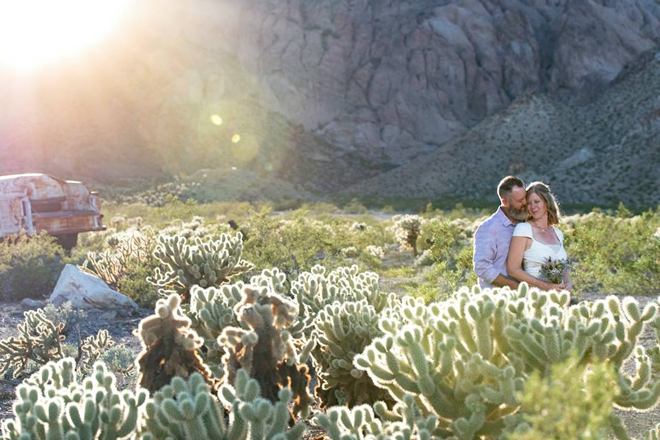 Desert Vintage Wedding Venue- Nelson Ghost Town Wedding