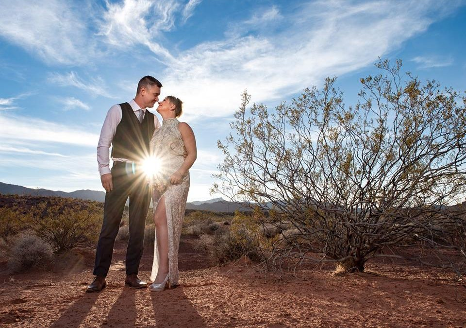 Tammy & Frank's Valley of Fire Luv Story